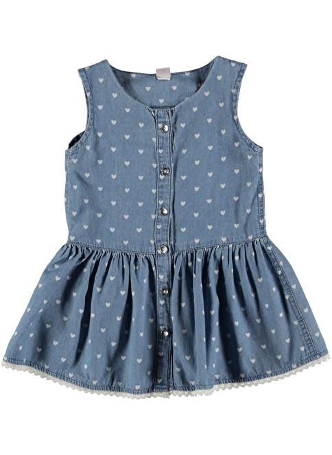 Koton Kids Elbise İndigo